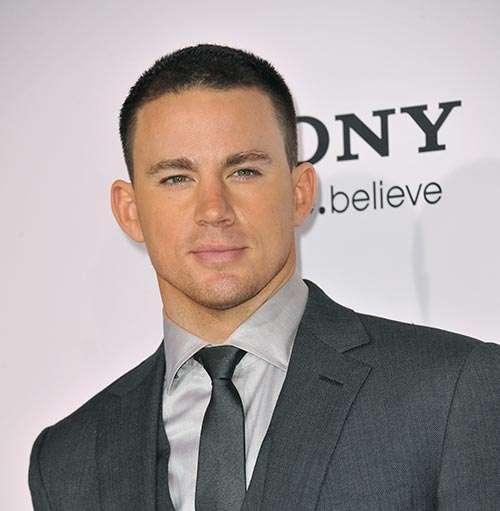 Channing Tatum short crew cut