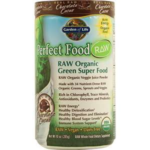 Garden of Life chocolate greens superfood powder