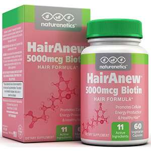 Hairaneew biotin hair growth supplement