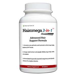 Hairomega 3 in 1 high strength all round hair loss supplement