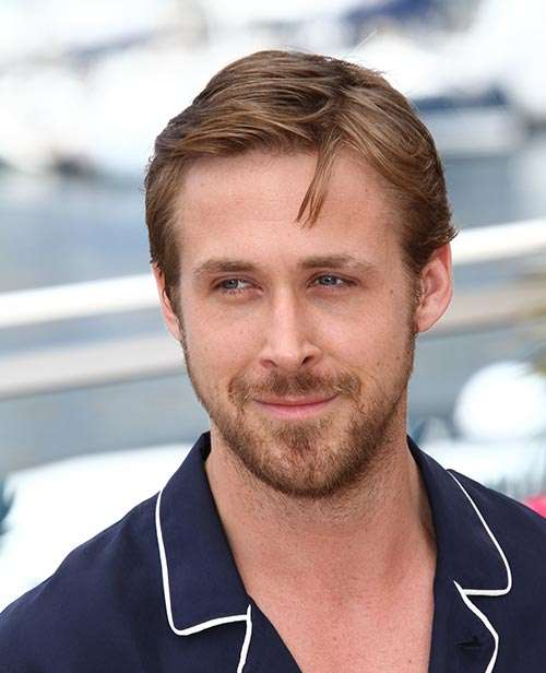 Ryan Gosling side parting