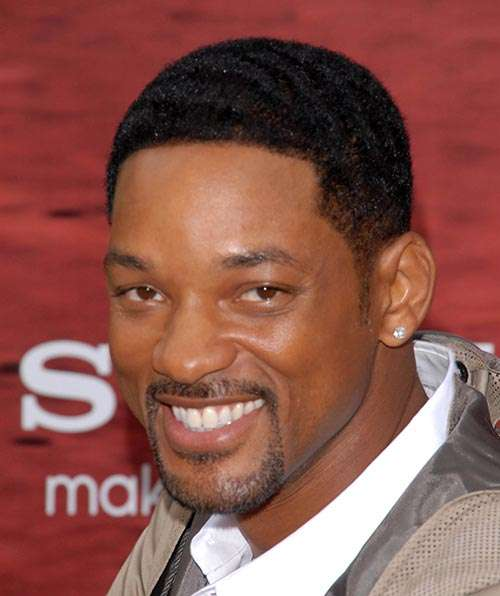 Will Smith short cropped hair