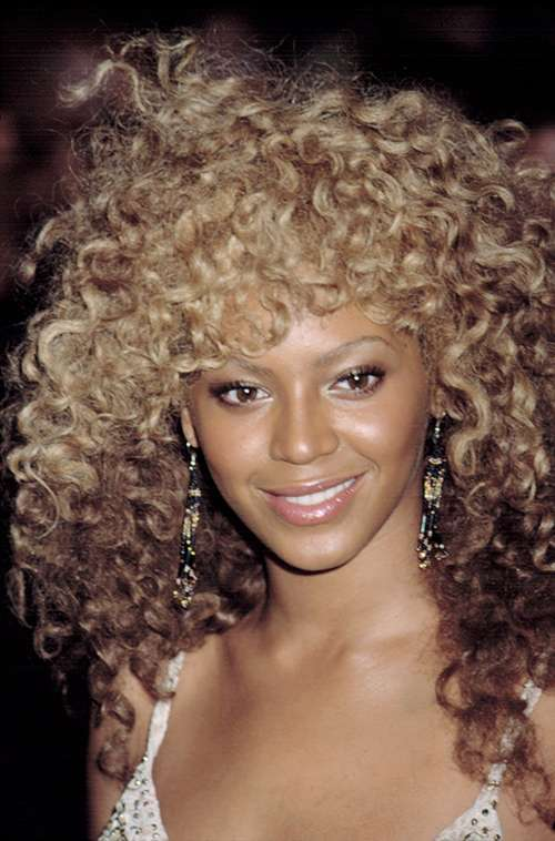 Beyonce Knowles bad hair day afro