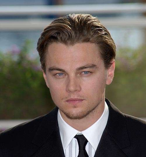 Leonardo Dicaprio young lighter hair