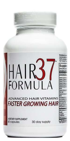 Hair Formula 37 best hair growth vitamins