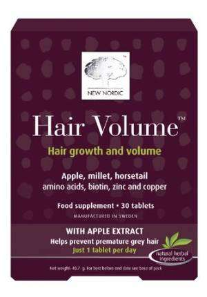Nordic Hair Volume vitamins