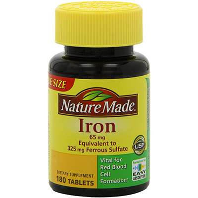 Easy Absorption Iron Supplement for hair growth