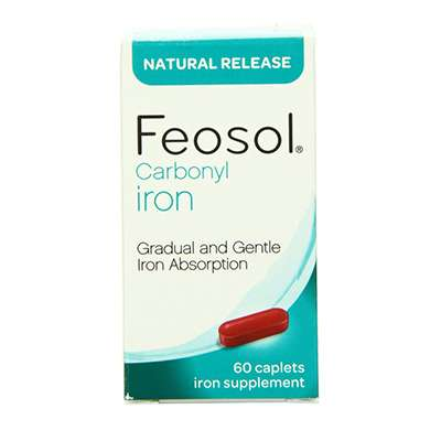 Gradual absorption iron supplement