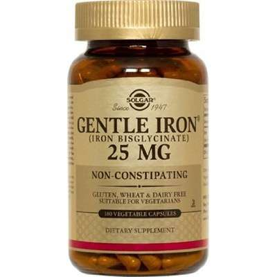 Non constipating iron supplement