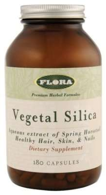 Vegetable silica supplement