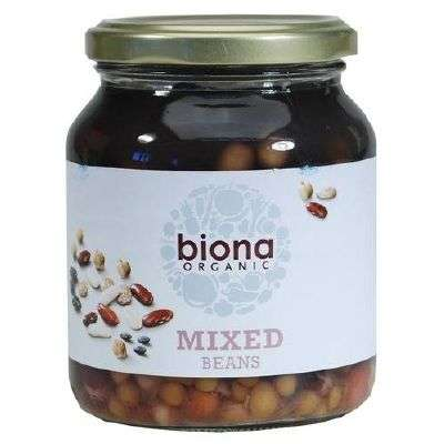 Organic mixed beans good source of iron