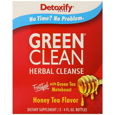 Detoxify Green Clean detox drink