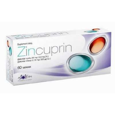 Zinc and copper ions supplement for hair health