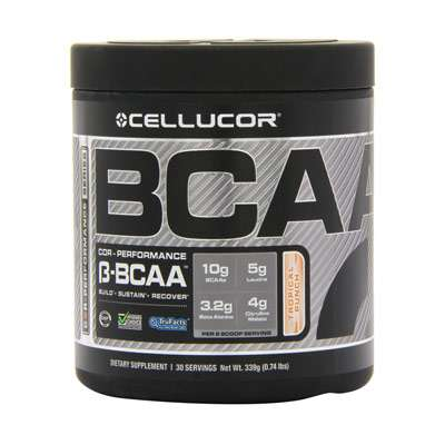 BCAA powder supplement for healthy hair