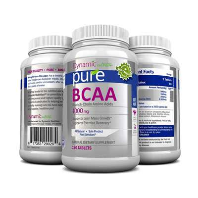 Branch chain amino acid supplement for hair growth