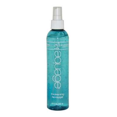 Thickening spray gel
