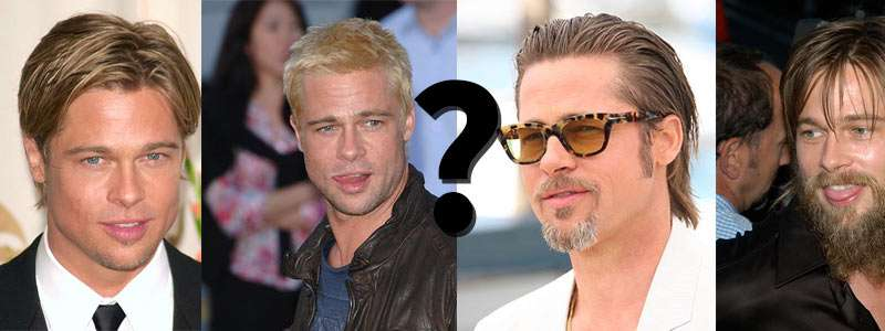Vote for Brad Pitt's Best Ever Hair Style