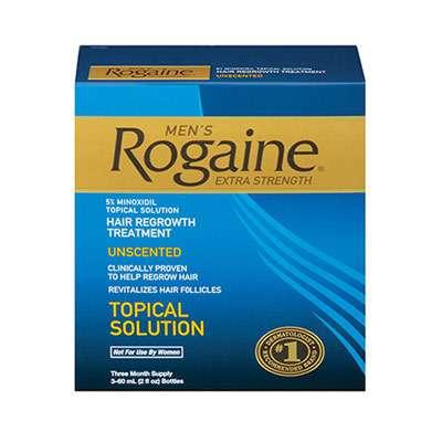 Rogaine for eyebrow growth