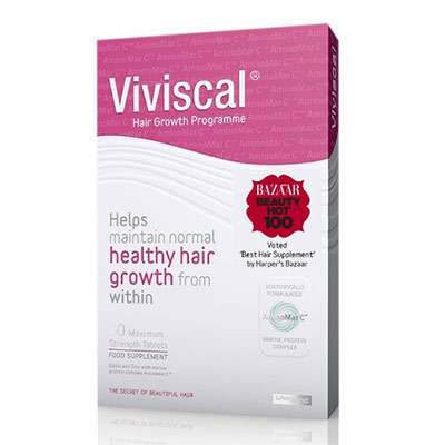 Viviscal hair supplement for eyebrows