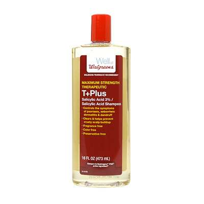 Wallgreens T Plus salicylic acid shampoo