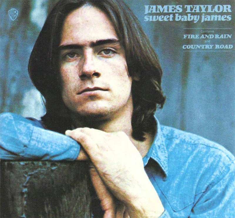 James Taylor rock star hair style