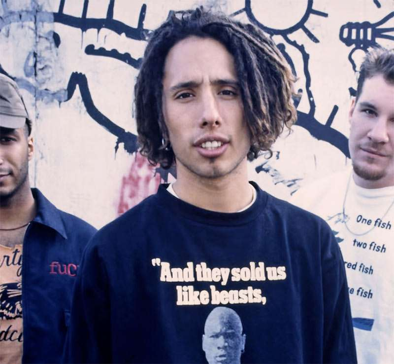 Zack De La Rocha S 90 S Metal Rap Rock Dreads
