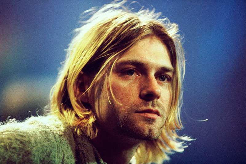 Kurt Cobain best rock star hairstyle