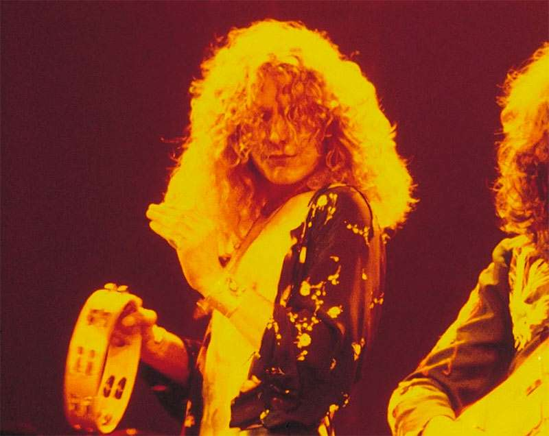 Robert Plant best rockstar hairstyles