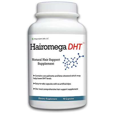 Hairomega DHT supplement