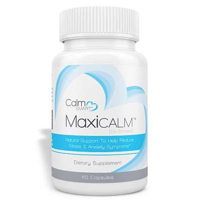 MaxiCalm Stress and anxiety reduction supplement