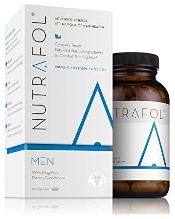 Nutrafol Men Advanced Thinning Hair Loss Supplement