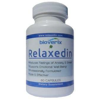 Relaxedin Anxiety supplement