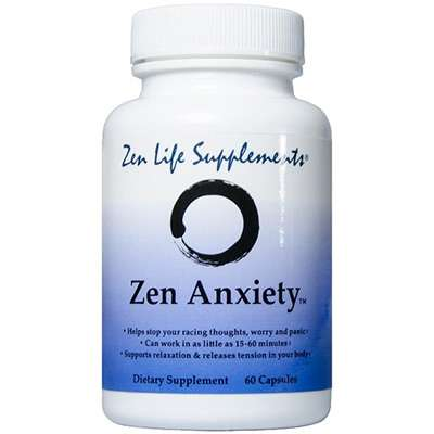 Zen Anxiety supplement