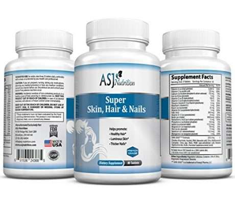 ASJ Super hair skin and nails supplement