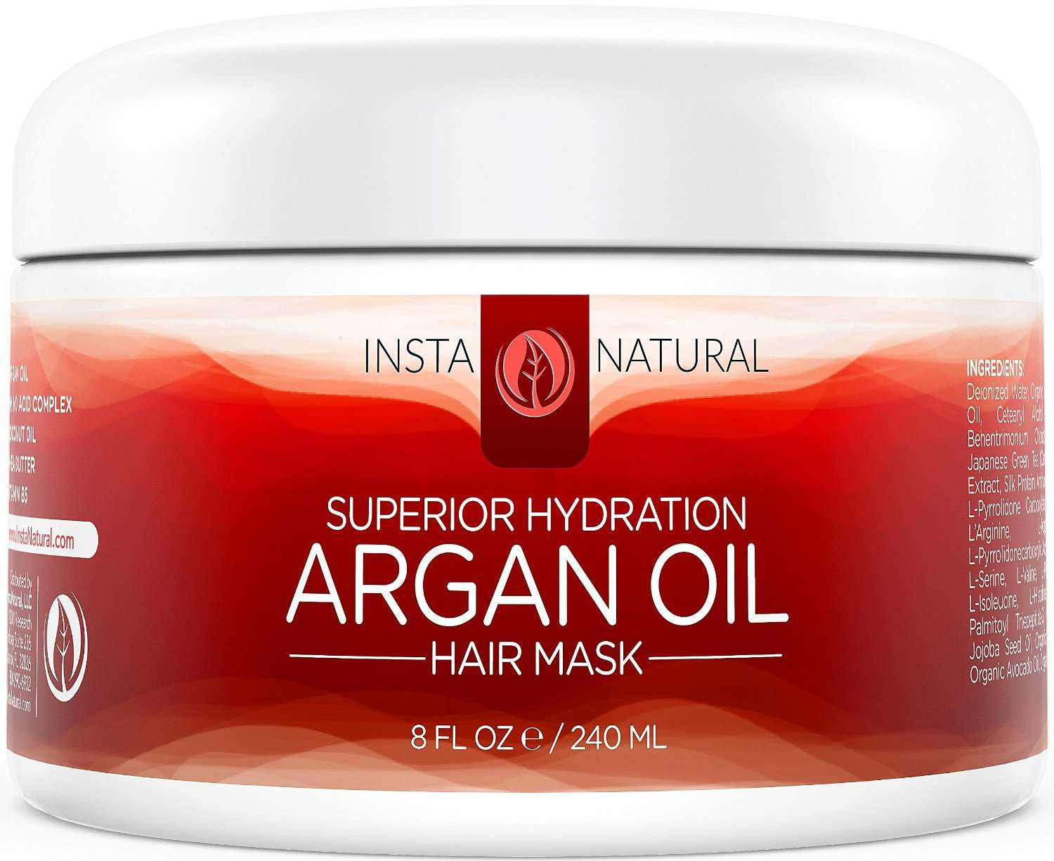 Argan Oil hair mask for straightenign hair