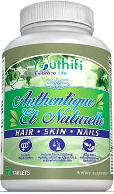 Authentic et Naturelle hair skin and nails supplement