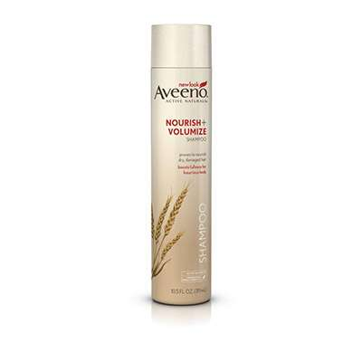 Aveeno Volumizing shampoo for fine thin hair