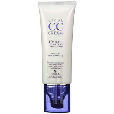 Caviar leave in hair thickener