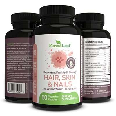 Forest Leaf hair skin nails supplement