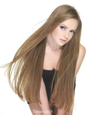 Clip on hair extensions