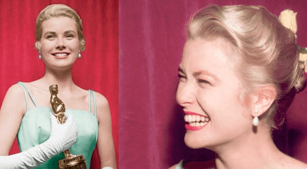 Grace Kelly at Oscars Awards