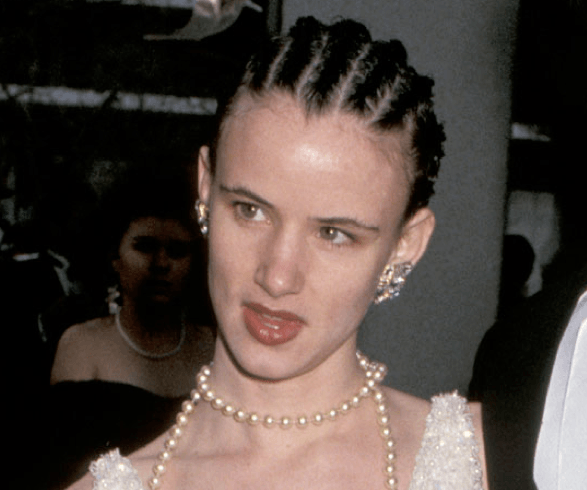 Juliette Lewis cornrows