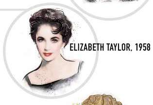Liz taylor hairstyle