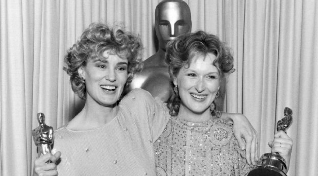 Jessica Lang and Meryl Streep