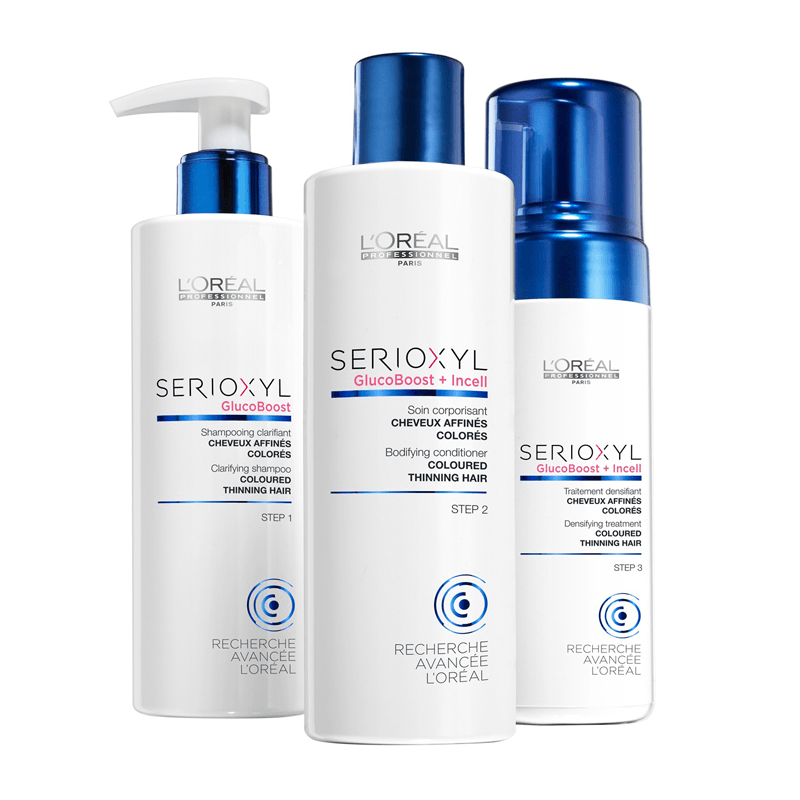 L Oreal Professionnel SERIOXYL hair loss treatment