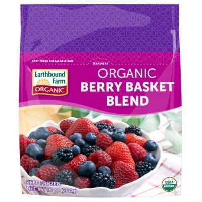 bag of frozen berries
