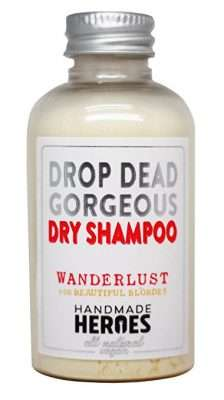 Drop Dead Gorgeous natural vegan dry shampoo