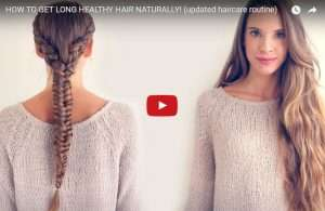 How to get long healthy hair