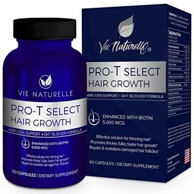 Vie Naturelle Pro T Select Hair Growth supplement