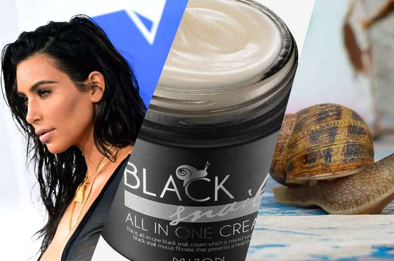 Snail slime for hair loss